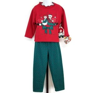 Vintage Snowden Raggedy Ann & Andy Holiday Outfit